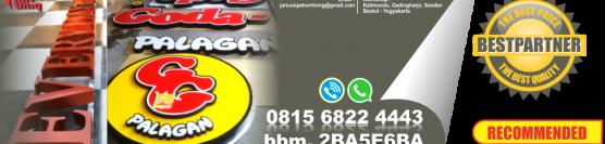 Jual huruf timbul murah di jogja 0815 6822 4443
