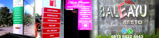 Jual Neon Box Murah Di Jogja 081 3288 50011
