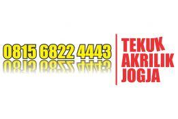 Jasa Tekuk dan Lipat akrilik murah di jogja 0815 6822 4443