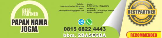 Jual papan nama murah di jogja 081 3288 50011