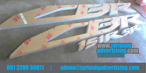 Jasa Advertising Jogja Huruf Timbul Akrilik CBR Honda Di Yogya