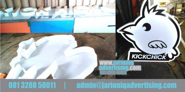 Jasa Advertising Jogja Huruf Timbul Akrilik Kickchick Di Yogya